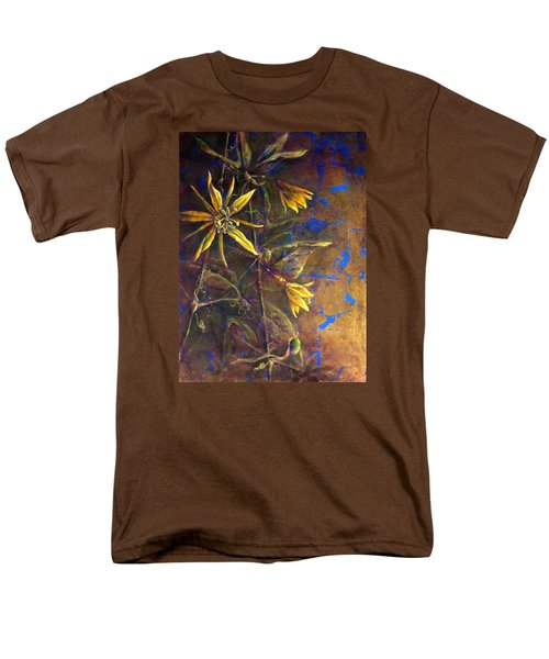 Gold Passions Men's T-Shirt  (Regular Fit) by Ashley Kujan