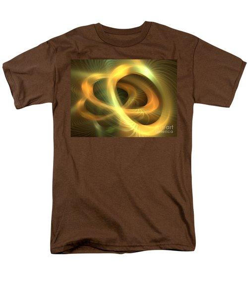 Golden Rings Men's T-Shirt  (Regular Fit) by Kim Sy Ok