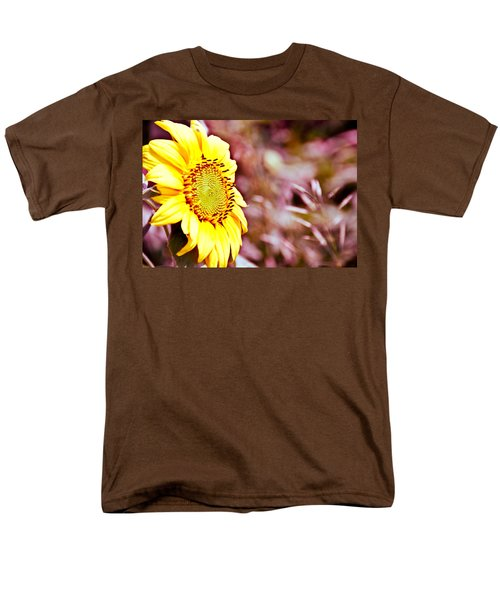 Men's T-Shirt  (Regular Fit) featuring the photograph Greeting The Sun. by Cheryl Baxter