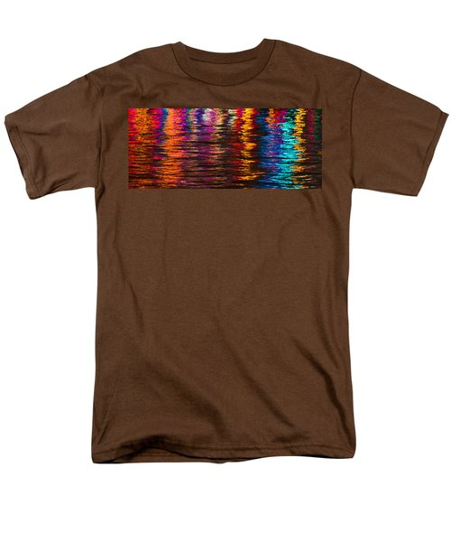 Holiday Reflections Men's T-Shirt  (Regular Fit) by Dorothy Cunningham