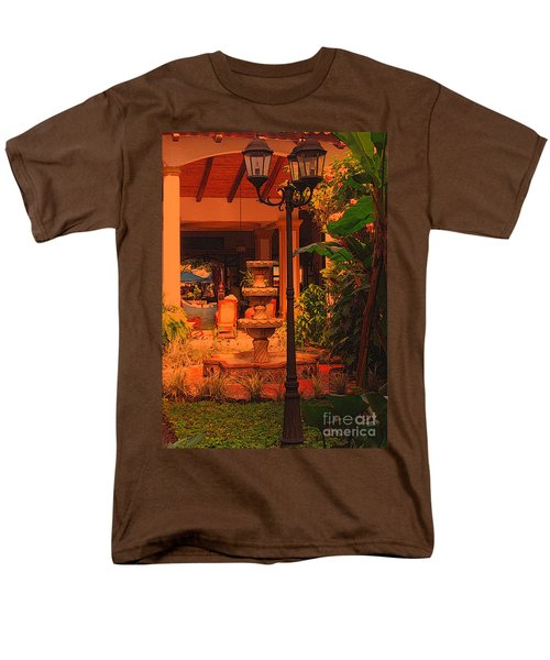 Men's T-Shirt  (Regular Fit) featuring the photograph Hotel Alhambra by Lydia Holly