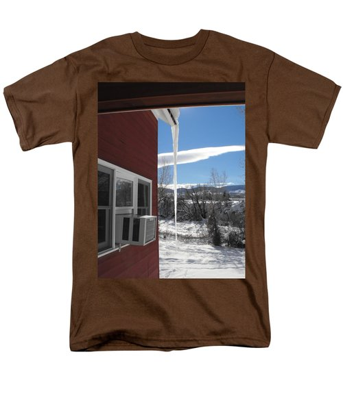 Ice In Motion Men's T-Shirt  (Regular Fit) by Adam Cornelison