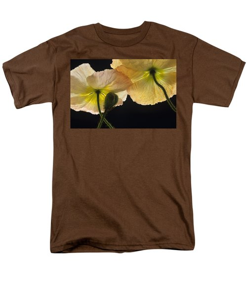 Iceland Poppies 2 Men's T-Shirt  (Regular Fit) by Susan Rovira