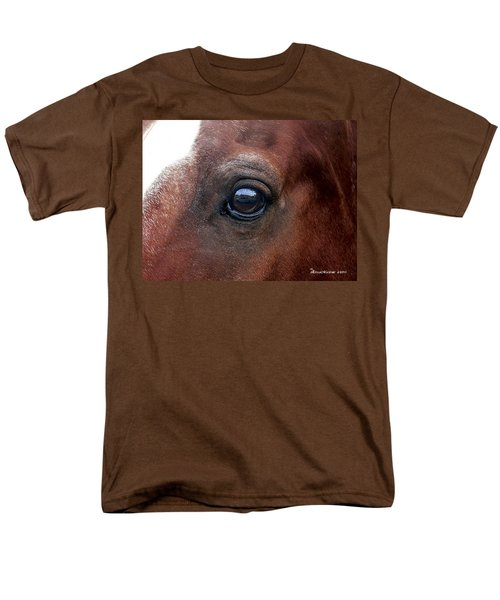 Men's T-Shirt  (Regular Fit) featuring the photograph In His Sight by EricaMaxine  Price