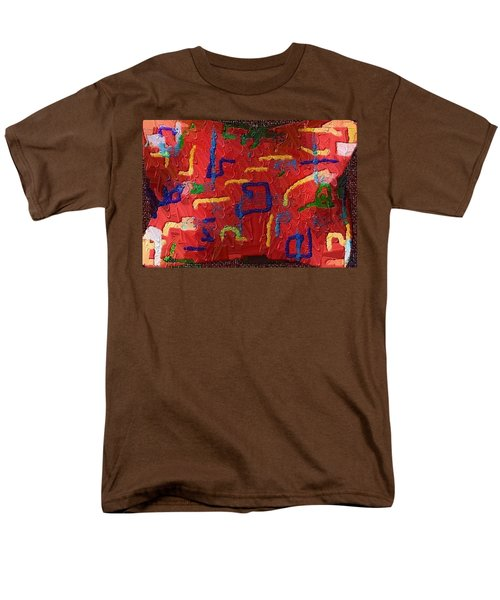 Men's T-Shirt  (Regular Fit) featuring the digital art Italian Pillow by Alec Drake