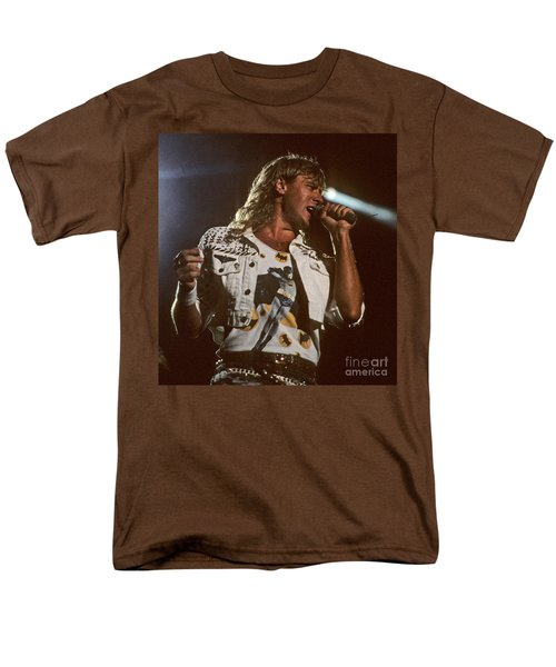 Joe Elliot Men's T-Shirt  (Regular Fit) by David Plastik