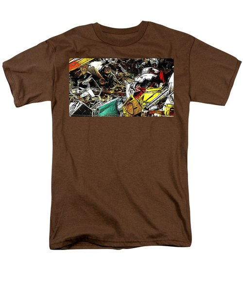 Men's T-Shirt  (Regular Fit) featuring the photograph Junky Treasure by Lydia Holly