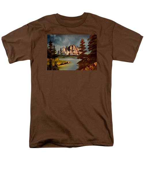 Lakeview Men's T-Shirt  (Regular Fit) by Maria Urso