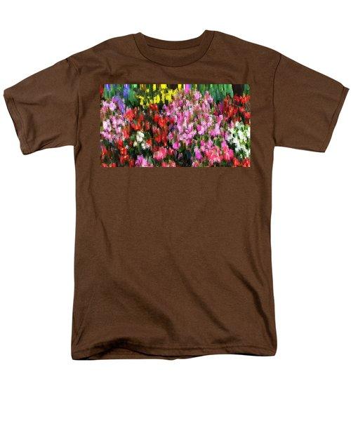 Les Fleurs Men's T-Shirt  (Regular Fit) by Terence Morrissey