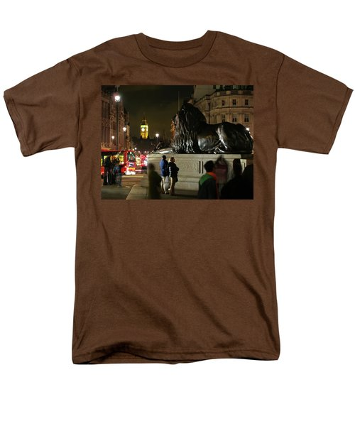 Men's T-Shirt  (Regular Fit) featuring the photograph Lion An Ben by Pedro Cardona