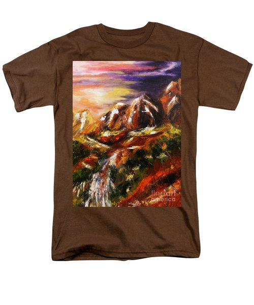 Magical Morn Men's T-Shirt  (Regular Fit) by Karen  Ferrand Carroll