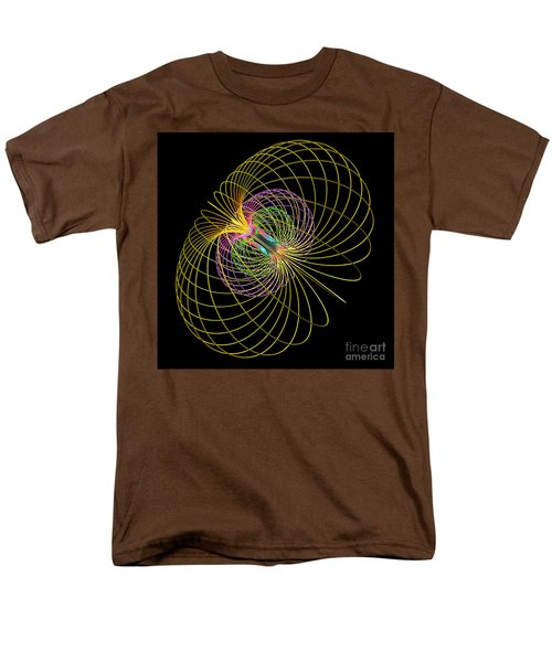 Magnetism 2 Men's T-Shirt  (Regular Fit) by Russell Kightley