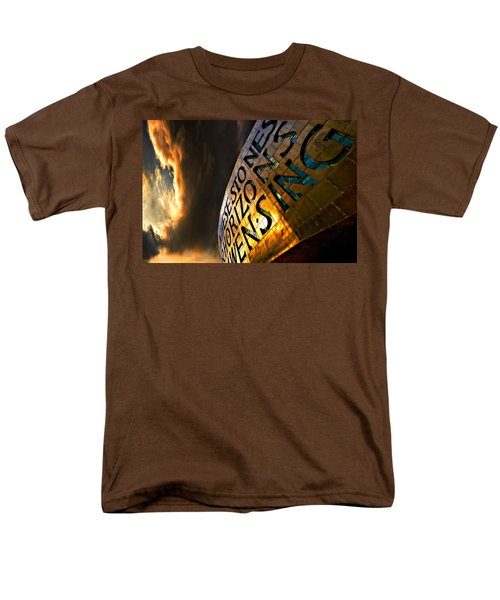 Men's T-Shirt  (Regular Fit) featuring the photograph Millennium Drama by Meirion Matthias