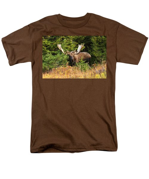 Men's T-Shirt  (Regular Fit) featuring the photograph Monster In The Hemlocks by Doug Lloyd