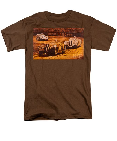 Men's T-Shirt  (Regular Fit) featuring the painting Monte-carlo 1937 by Igor Postash