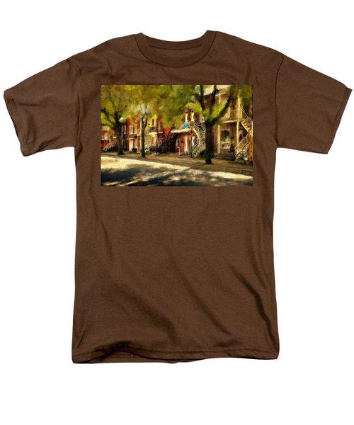 Montreal Street Men's T-Shirt  (Regular Fit) by Diane Dugas