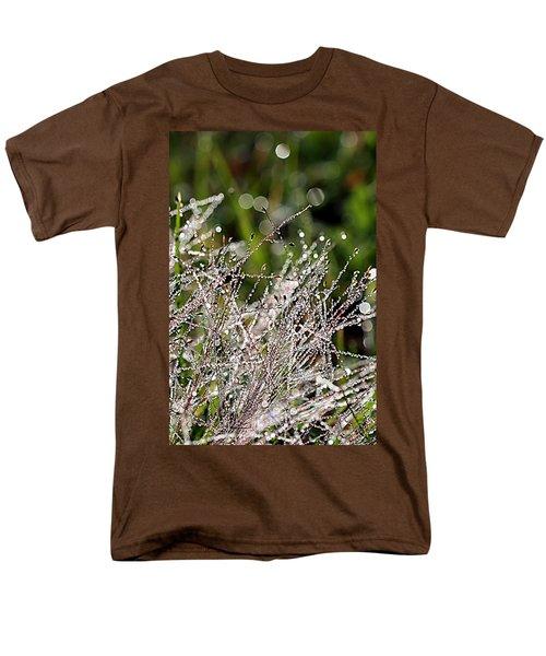 Men's T-Shirt  (Regular Fit) featuring the photograph Morning Dew by Lauren Radke