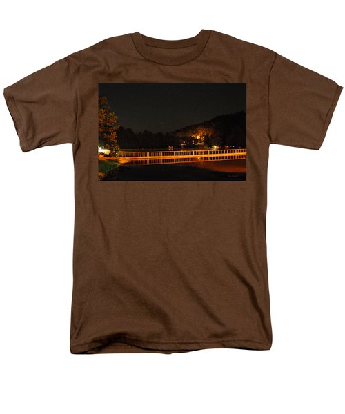 Night Bridge Men's T-Shirt  (Regular Fit) by Kay Lovingood
