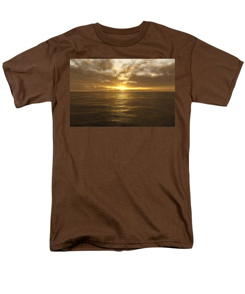 Ocean Sunset Men's T-Shirt  (Regular Fit) by Mark Greenberg