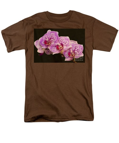 Orchids Men's T-Shirt  (Regular Fit) by Eunice Gibb