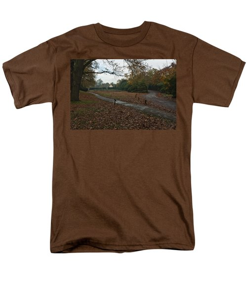 Men's T-Shirt  (Regular Fit) featuring the photograph Park Cottage 2 by Maj Seda