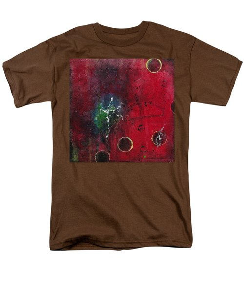 Men's T-Shirt  (Regular Fit) featuring the painting Passion 2 by Nicole Nadeau