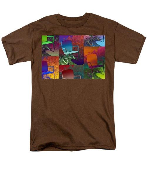 Men's T-Shirt  (Regular Fit) featuring the photograph Patio Chair by David Pantuso