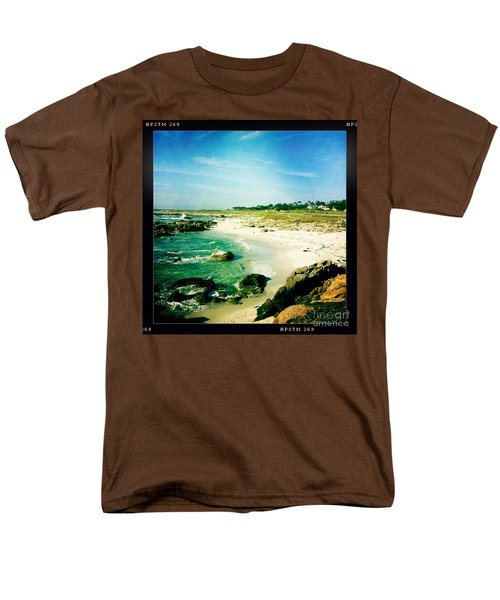 Men's T-Shirt  (Regular Fit) featuring the photograph Pebble Beach by Nina Prommer
