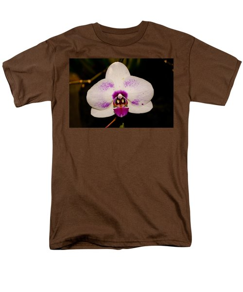 Men's T-Shirt  (Regular Fit) featuring the photograph Phalaenopsis White Orchid by Tikvah's Hope