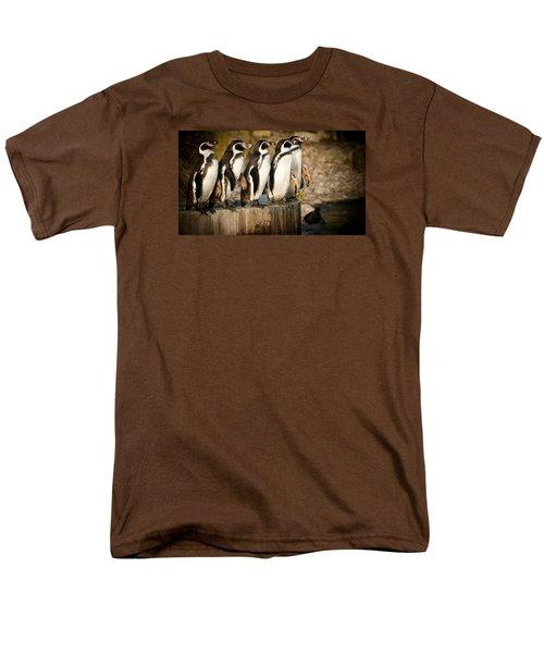 Men's T-Shirt  (Regular Fit) featuring the photograph Pick Up A Penguin by Chris Boulton