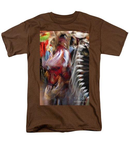 Pow Wow Dancer Men's T-Shirt  (Regular Fit) by Vivian Christopher
