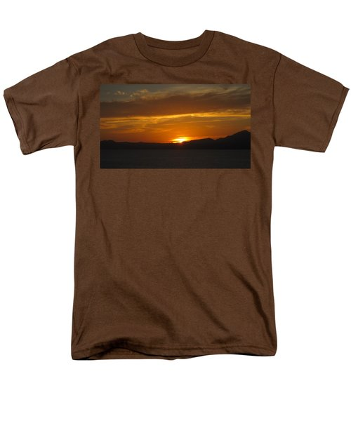 Men's T-Shirt  (Regular Fit) featuring the photograph Puerto Vallarta Sunset by Marilyn Wilson