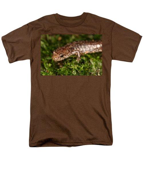 Red-backed Salamander Men's T-Shirt  (Regular Fit) by Ted Kinsman