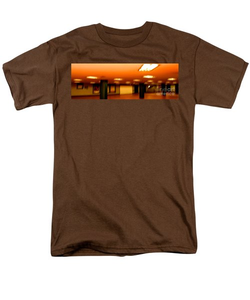 Men's T-Shirt  (Regular Fit) featuring the photograph Red Subway by Andy Prendy