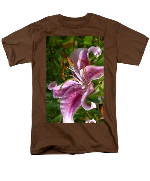Men's T-Shirt  (Regular Fit) featuring the photograph Rubrum Lily by Carla Parris