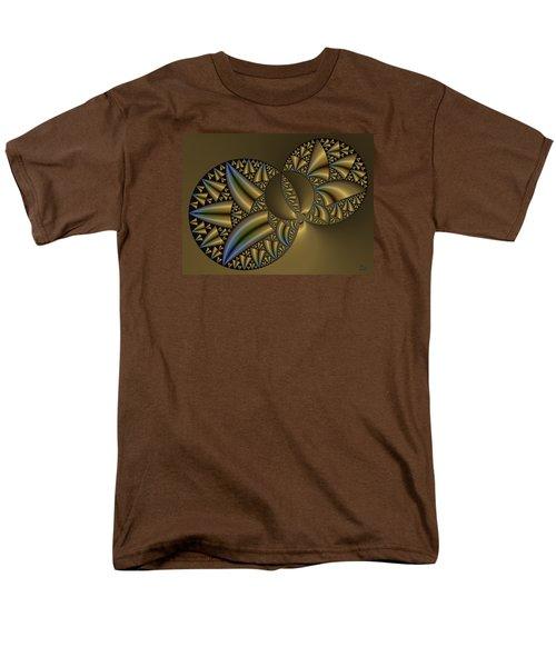 Men's T-Shirt  (Regular Fit) featuring the digital art Senza Fine by Manny Lorenzo