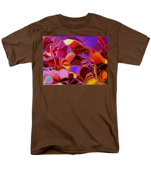 Shades Of Satin Men's T-Shirt  (Regular Fit) by Renate Nadi Wesley