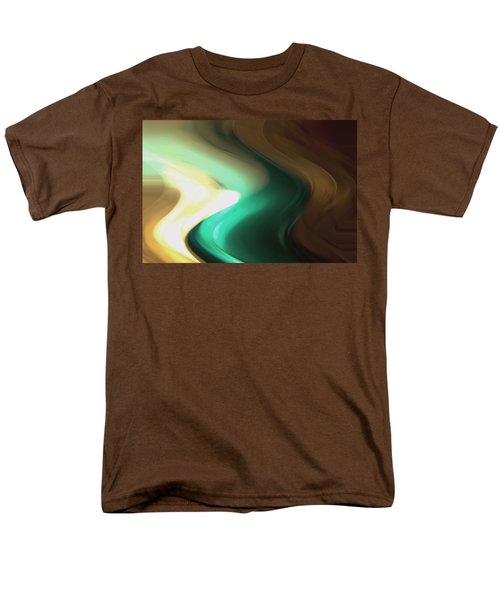 Men's T-Shirt  (Regular Fit) featuring the mixed media Sine Of Ninety by Terence Morrissey