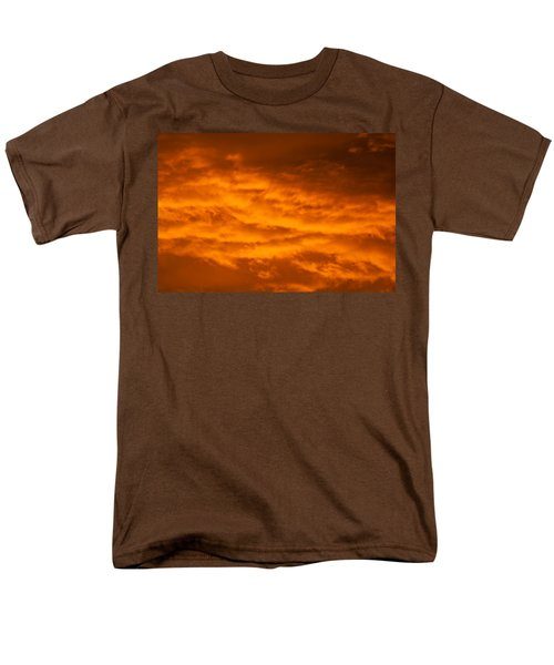 Sky Of Fire Men's T-Shirt  (Regular Fit) by Colleen Coccia