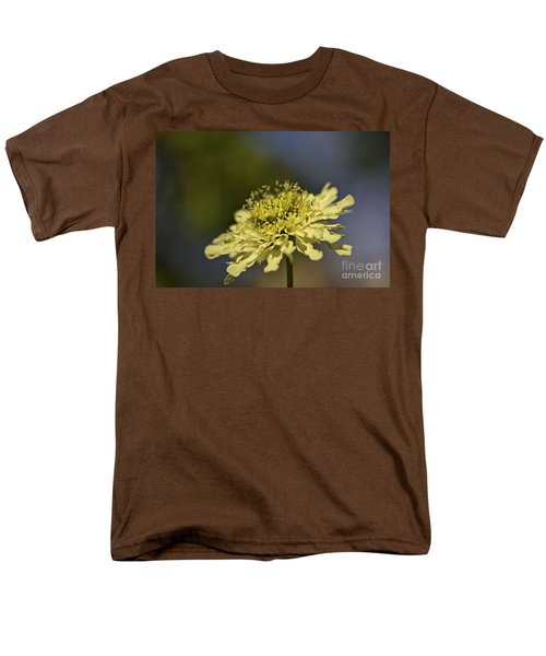 Men's T-Shirt  (Regular Fit) featuring the photograph Soft Yellow. by Clare Bambers