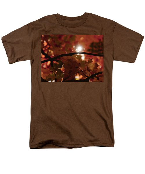 Men's T-Shirt  (Regular Fit) featuring the photograph Spotlight On Fall by Cheryl Baxter