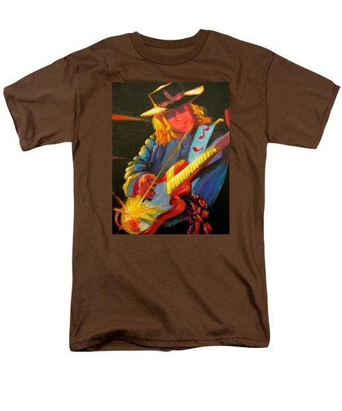 Stevie Ray Vaughn Men's T-Shirt  (Regular Fit) by Jeanette Jarmon