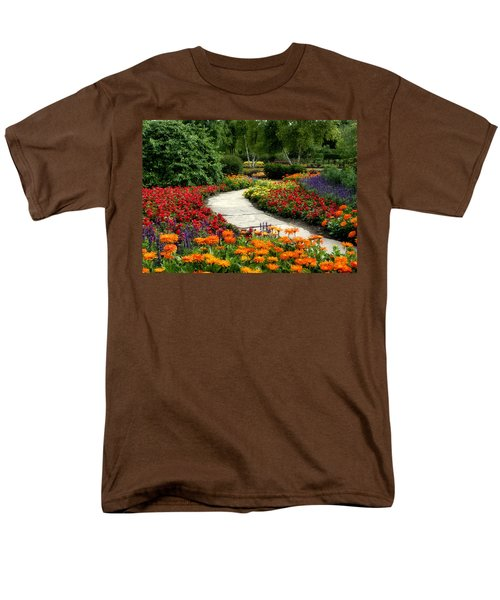 Summer In Cantigny 1 Men's T-Shirt  (Regular Fit) by Ely Arsha