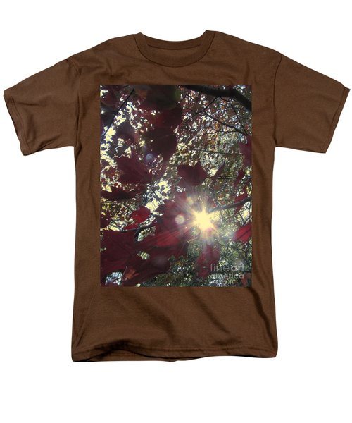 Men's T-Shirt  (Regular Fit) featuring the photograph Sun Shine Through by Donna Brown