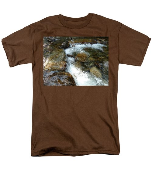 Sunlit Cascade Men's T-Shirt  (Regular Fit) by Joel Deutsch