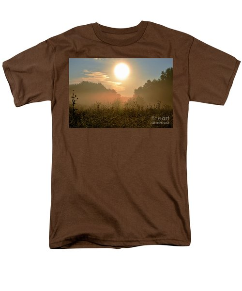 Sunny Side Up Men's T-Shirt  (Regular Fit) by Sue Stefanowicz