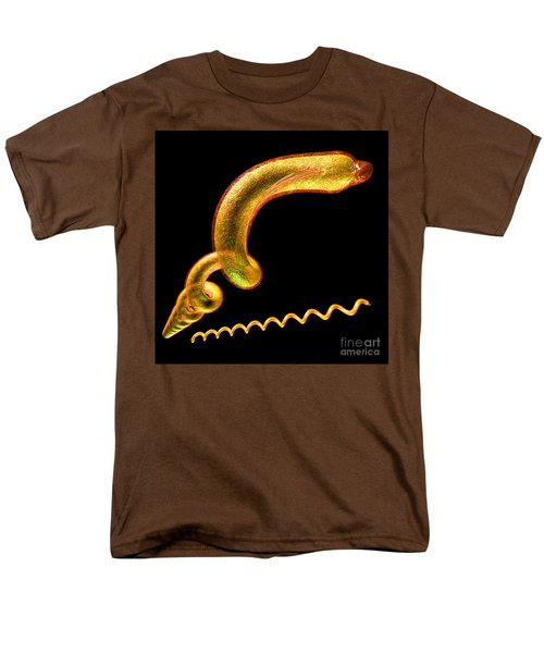Men's T-Shirt  (Regular Fit) featuring the digital art Syphilis by Russell Kightley