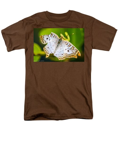 Men's T-Shirt  (Regular Fit) featuring the photograph Tattered Moth by Shannon Harrington