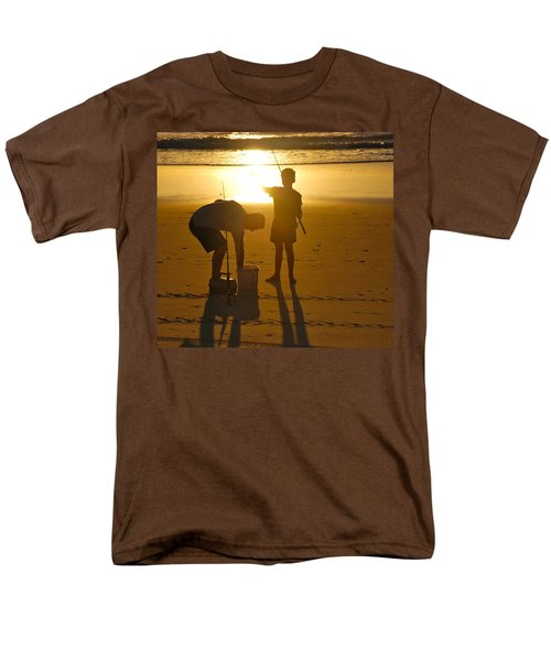 Men's T-Shirt  (Regular Fit) featuring the photograph Teach A Man To Fish... by Eric Tressler