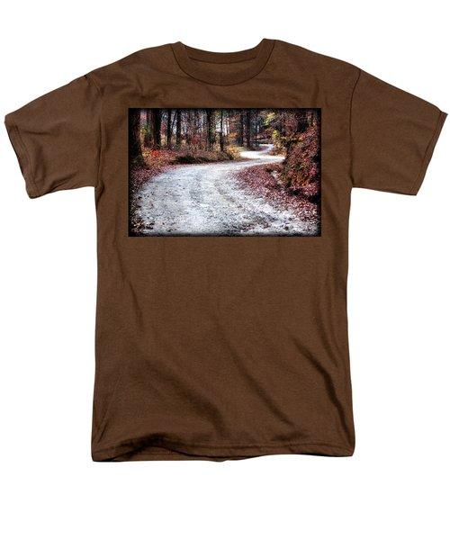 The Broken Road Men's T-Shirt  (Regular Fit) by Lynne Jenkins